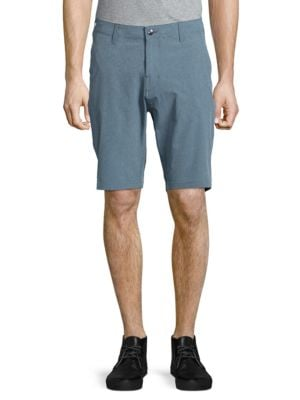 Textured Four-Pocket Shorts by Trunks Surf + Swim