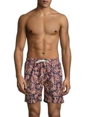 Tropical Floral Swim Shorts by Trunks Surf + Swim