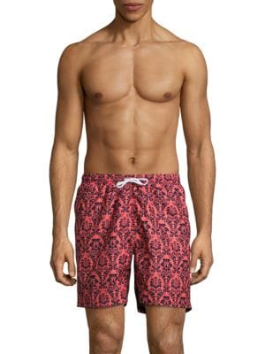 Tropical Damask Swim Shorts by Trunks Surf + Swim