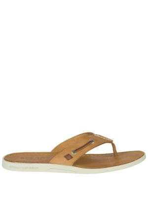 Leather Thong Sandals by Sperry