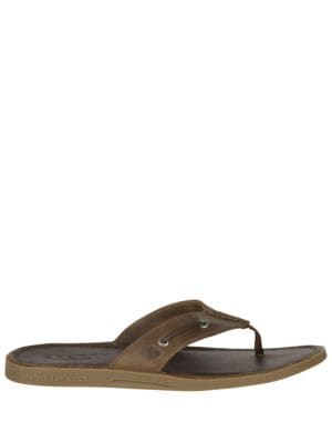Leather Flip Flops by Tommy Bahama