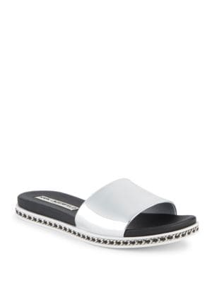 Buy Billi One Band Slides by Karl Lagerfeld Paris online