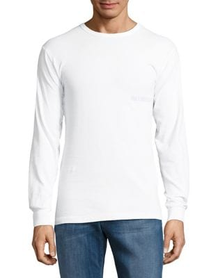 Long Sleeve Cotton Tee by Hans Kjobenhavn