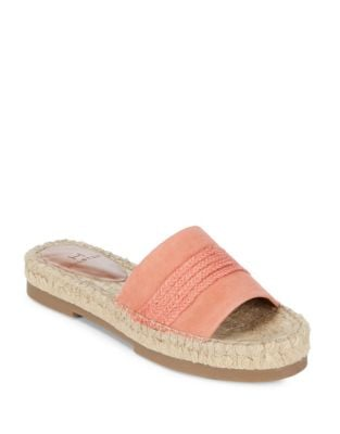 Betty Espadrille Slide Sandals by H Halston