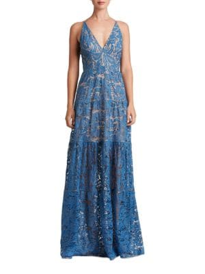 Melina Lace Gown by Dress The Population