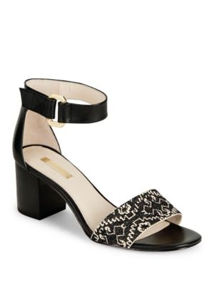 Lo-Kambria Block-Heel Sandals by Louise et Cie