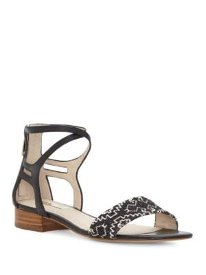 Lo-Adley Block-Heel Sandals by Louise et Cie