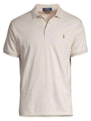 Classic-Fit Soft-Touch Polo by Polo Big And Tall