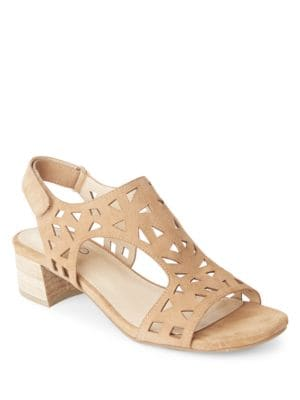 Madelyn Suede Slingback Sandals by Me Too