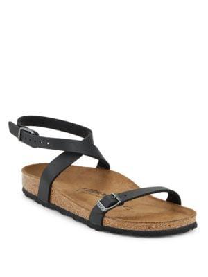 Daloa Ankle Strap Flat Sandals by Birkenstock