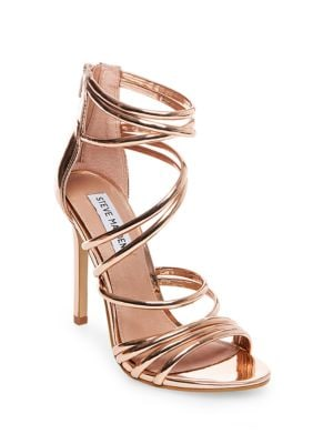 Santi Strappy Heeled Sandals by Steve Madden