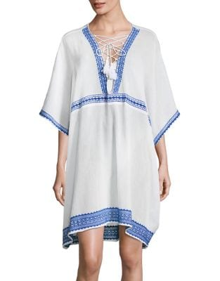 Tribal Cotton Caftan by Vitamin A