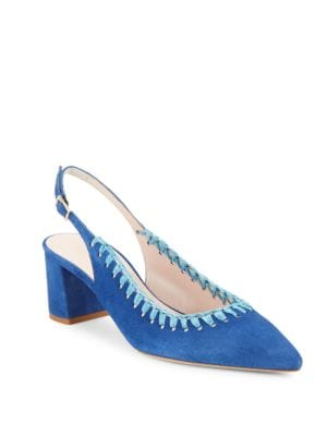 Madison Suede Slingback Pumps by Kate Spade New York