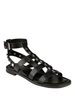 Felice Studded Flat Sandals by Marc Fisher LTD