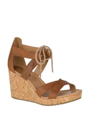 Dawn Ari Platform Wedge Sandals by Sperry