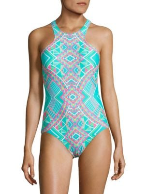 All Tied Up One-Piece Swimsuit by Coco Rave
