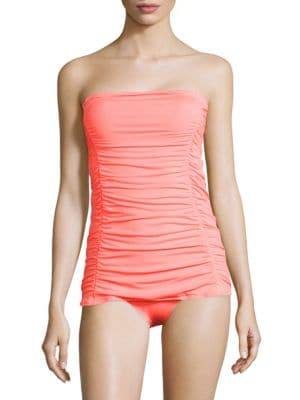 Solids Strapless Swimdress by Coco Rave