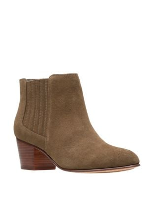 Mayprl Suede Ankle Boots by Clarks