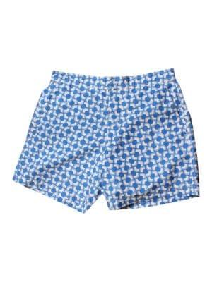 Optical Mod Stripe Printed Swim Shorts by Ben Sherman