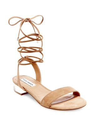 Carolynn Lace-Up Sandals by Steve Madden