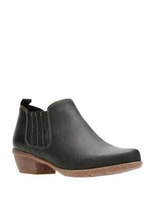 Wilrose Slip-On Booties by Clarks