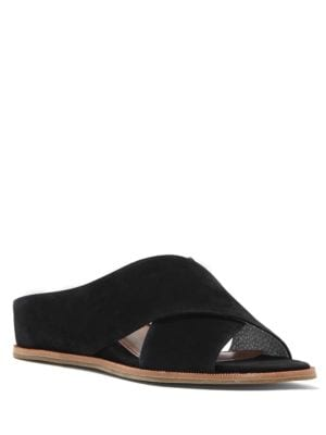 Treya Leather Crisscross Shoes by Ed Ellen Degeneres