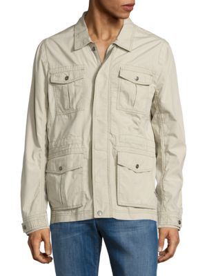 Textured Utility Jacket by Calvin Klein Jeans