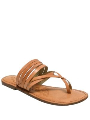 Chrissy Leather Sandals by Naughty Monkey