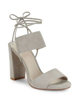 Dess Canvas Lace-Up Dress Sandals by Kenneth Cole New York