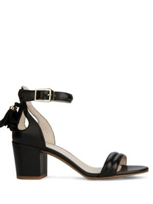 Harriet Tassel Suede Sandals by Kenneth Cole New York