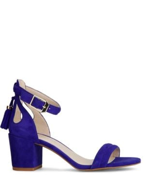Harriet Suede Block Heel Sandals by Kenneth Cole New York