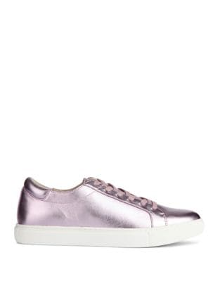 Leather Low Top Sneakers by Kenneth Cole New York