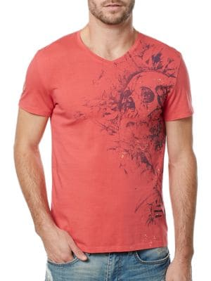 V-Neck Cruise Tee by BUFFALO David Bitton