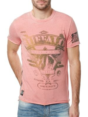 Metallic Graphic Tee by BUFFALO David Bitton