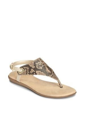 Conchlusion Thong Sandals by Aerosoles