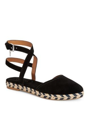 Suede Espadrille Flats by COACH