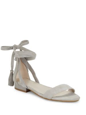 Valen Suede Ankle-Strap Sandals by Kenneth Cole New York
