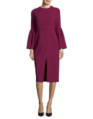 Flared Three-Quarter Sleeved Dress by Jill Jill Stuart