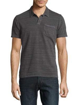 Textured Pocket Polo by Lucky Brand