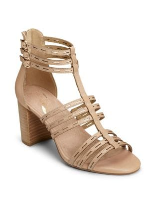 Highway Leather Cutout Sandals by Aerosoles