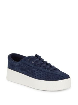 Nylite Lace-Up Platform Sneakers by Tretorn