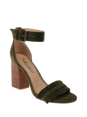 Jakey Fringed Suede Sandals by Splendid