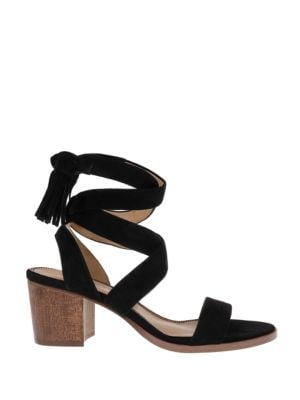 Janet Suede Tie-Up Sandals by Splendid