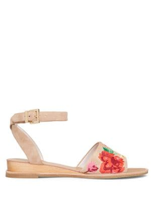 Jory 3 Ankle-Strap Leather Sandals by Kenneth Cole New York