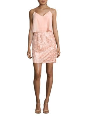 Embellished Popover Dress by Laundry by Shelli Segal