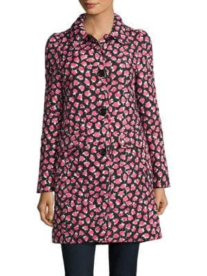 Quilted Rose-Print Jacket by Kate Spade New York
