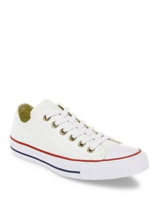 Chuck Taylor All-Star Star-Embroidered Low-Top Sneakers by Converse