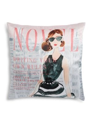 Writing Your Own Rules Decorative Square Pillow 500087022425