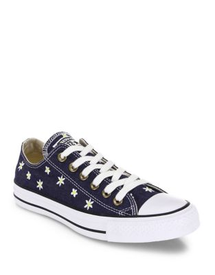 Chuck Taylor All-Star Denim Daisy Low-Top Sneakers by Converse