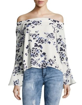 Floral Print Blouse by Design Lab Lord & Taylor